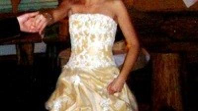 Oryginalna,piękna suknia