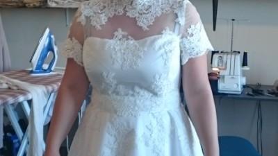oryginalna sukienka ślubna