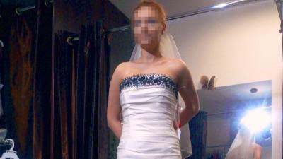 Oryginalna suknia Gracieuse Amour syrena 34/36