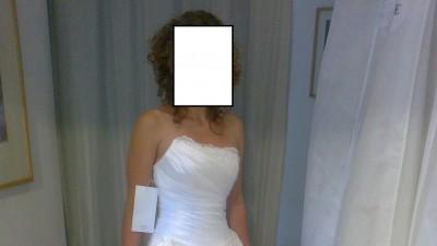 oryginalna suknia slubna cymbeline 36-38, ecru