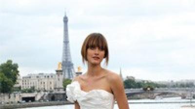 Oryginalna suknia ślubna CYMBELINE DULCINEE 2010 roz. 36 kupiona w Paryżu !