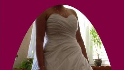 Oryginalna suknia ślubna + dodatki