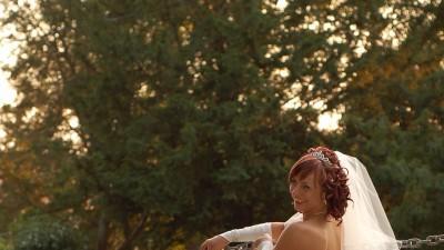oryginalna suknia ślubna ecru