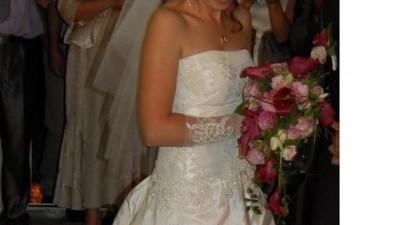Oryginalna suknia ślubna Justin Alexander
