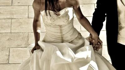 Oryginalna suknia ślubna **PRINCESS** jedyna taka francuski styl