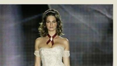Oryginalna suknia ślubna projektu Lydii Delgado dla Pronovias!