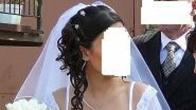 oryginalna suknia ślubna, prywatny projekt