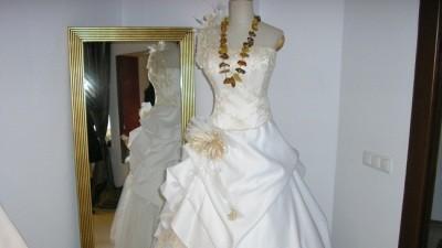 Oryginalna Suknia Ślubna!!Własnego Projektu!!(z Welonem)