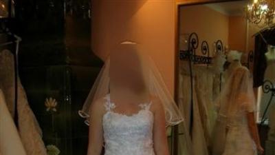 oryginalna suknia ślubna z USA