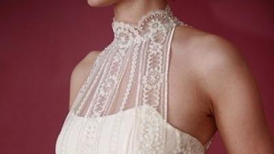 oryginalna suknia w kolorze ivory