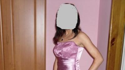 Oszałamiająca EXLUZYWNA suknia wiecz. 36-38