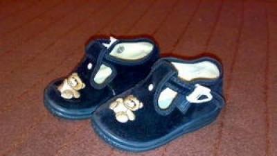 Pantofelki dla chłopczyka