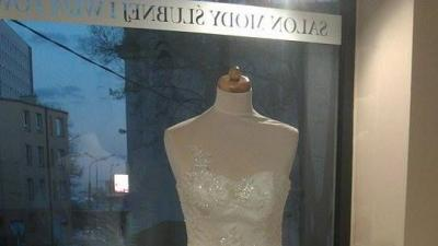 PAPA MICHEL - JELSI Piękna Suknia Ślubna Rozmiar 38