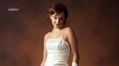 Pełna elegancji, szczęśliwa :) suknia ADABIEL, firmy Adeline