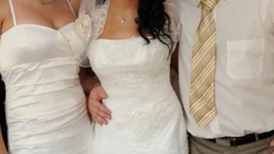 Perłowa suknia z salonu BELLISSIMA
