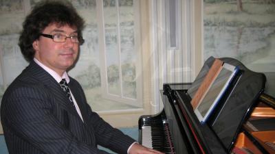Pianista elegancki przyjęcia ślubne