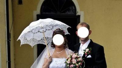 pieka suknia ślubna :)