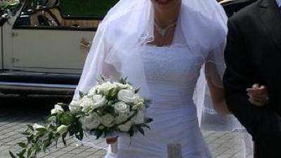 piękna biała suknia roz.36-38