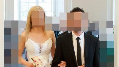 piękna biała suknia ślubna Tornado - salon Angel