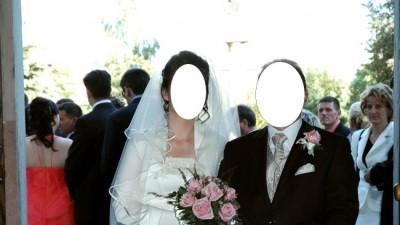 Piękna, delikatna suknia ślubna, rozmiar 38