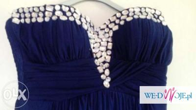 Piękna długa suknie wieczorowa roz 38