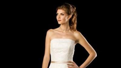 Piękna francuska suknia ślubna DUNIS
