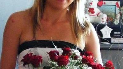 Piękna i Elegancka Suknia w Kwiaty roz.36