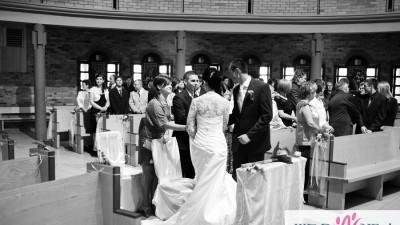 Piękna i klasyczna Suknia Ślubna z salnu CLASSA rozmiar 34-36