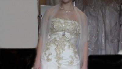 Piękna i niepowtarzalna suknia + gratisy