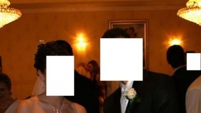 piękna i szykowna suknia ślubna