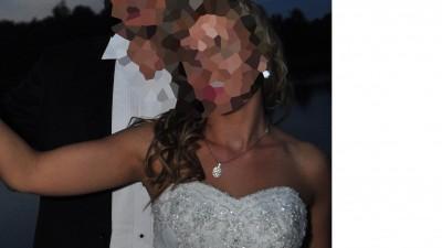 Piękna i wyjątkowa Suknia Ślubna! GRATIS oddam welon i poduszkę do obrączek!