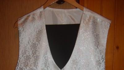 Piękna kamizelka ślubna