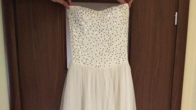 Piękna, klasyczna, tania suknia ślubna!