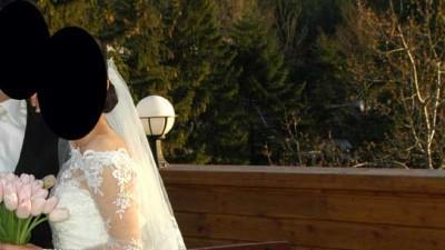 Piękna koronkowa suknia ślubna KOMPLET!!!OKAZJA!!!