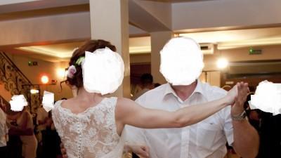 Piękna, Koronkowa suknia ślubna rozmiar 38