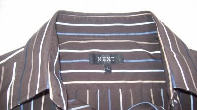 Piekna koszula NEXTA w kolrze brązowym w paseczki
