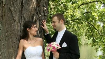 Piękna, muślinowa suknia BIANCANEVE rozmiar 36/38, z kryształkami Svarowskiego!