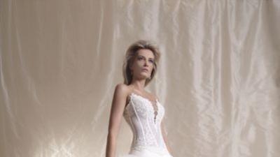 PIĘKNA NOWA  suknia wysadzana KRYSZTALKAMI SVAROVSKIEGO-AGORA 29-12