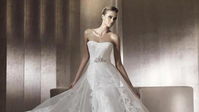 Piękna, orginalna suknia ślubna