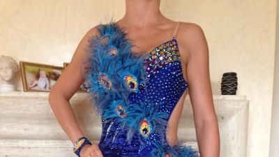 Piękna sukienka do Tanca Towarzyskiego LA