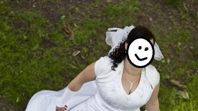 Piekna Sukna Ślubna, sprowadzana z Los Angeles. Rozmiar 44/46