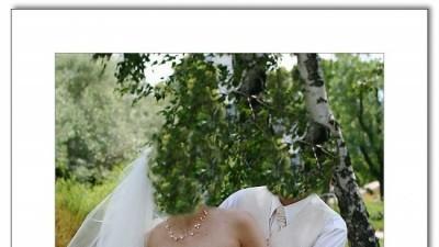 piękna suknia ecru