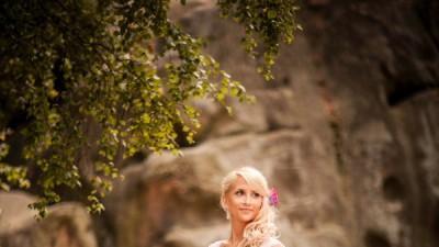 Piękna suknia księżniczka/princesska, r36, kryształy Swarovskiego