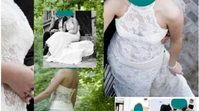 Piękna suknia Lisa ferrera - Demetrios 1332 rozmiar 38