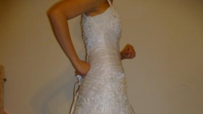 piękna suknia Maggie Sottero, model Leoni