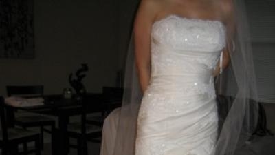 Piękna suknia PRONOVIAS HISZPANKA FALBANY!