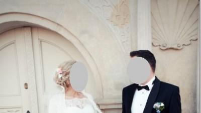 Piekna suknia śluba AMY LOVE 2015r.