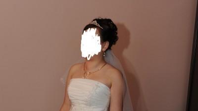 piękna suknia ślubma