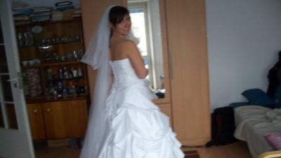 Piękna suknia ślubna 36/38 firmy GALA