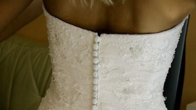 Piękna suknia ślubna :)